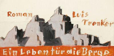 Alfons Walde, 'Luis Trenker: Ein Leben für die Berge (A Life for the Mountains)', ca. 1925