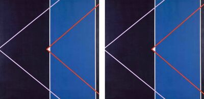 Hannatjie van der Wat, 'Spaceship I & II (Diptych)', 1969