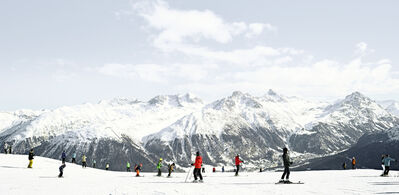 Joshua Jensen-Nagle, 'Taking In St. Moritz', 2017