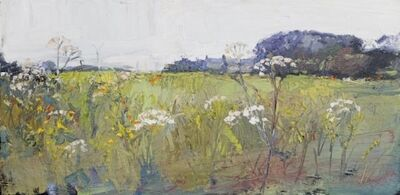 Robert Newton, 'Windmills, Cow Parsley, Barley', 2018