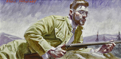 Mark Beard, 'Waiting to Take Aim', date unknown