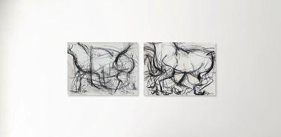 Heidi Lanino, 'Movement Diptych (II + III)', 2016