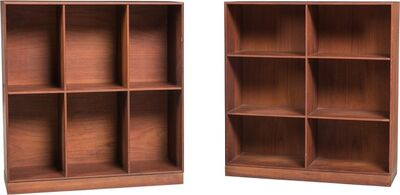 Mogens Koch, 'Pair of Open Bookcases', circa 1960