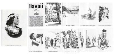Fernando Bryce, 'Hawaii', 2002