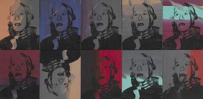 Andy Warhol, 'Self-Portrait Strangulation', 1978