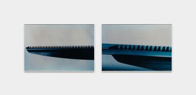 Iole de Freitas, 'Série Faca na água', 1982