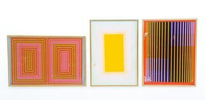 Richard Anuszkiewicz, 'Untitled (three works)'