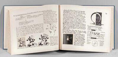 Johannes Itten, 'Tagebuch Beitrage zu einem Kontrapunkt der bildenden Kunst', 1962