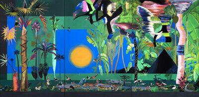 Hulda Guzmán, 'Fiesta en la selva', 2019
