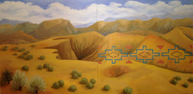 Kay WalkingStick, 'New Mexico Desert', 2011