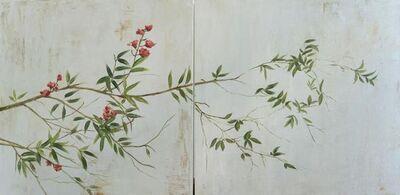 MARTA GÓMEZ DE LA SERNA, ' Branch with flower', 2019