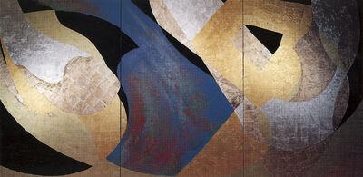 Kenji Yoshida, 'Amithaba (3 panels)'