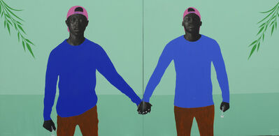 Tosin Kalejaye, 'Awakened I and II (Diptych)', 2020