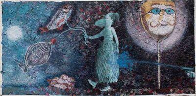 Megan Marlatt, 'Binche Carnival with Goya Fish', 2018