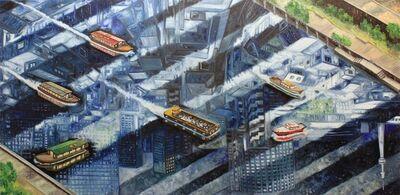 Oscar Oiwa, 'Sumida River', 2015