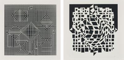 Victor Vasarely, 'Album cinétique NB (Kinetic Album)', 1975