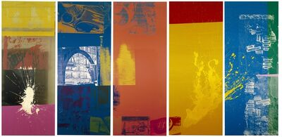 Robert Rauschenberg, 'The 1/4 Mile or 2 Furlong Piece', 1981-1998