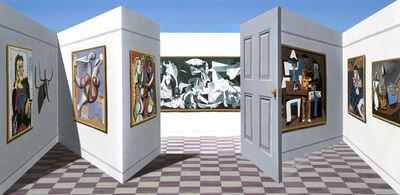 Patrick Hughes, 'Picassos', 2012
