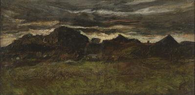 J. Frank Currier (Joseph Frank Currier), 'Landscape near Dachau', ca. 1880