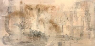 Tiny de Bruin, 'Visit to heaven (2021) 70x140x4 cm ~ Painting, Acrylic', 2021