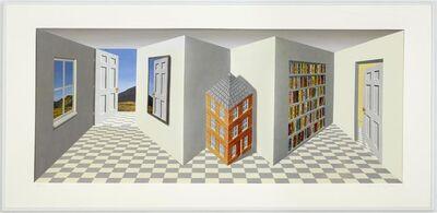 Patrick Hughes, 'Home', 2001