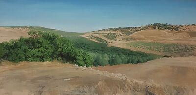 Carmen chofre García, 'Higuera y Olivar / Spanish Landscape', 2018