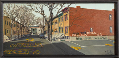William Waithe, 'Newark Street', ca. 1980