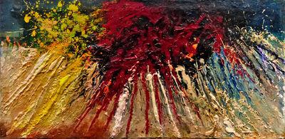 Toshimitsu Imai, 'Soleil Rouge', 1959