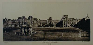 Édouard Baldus, 'Paris ~ Nouveau Louvre', ca. 1857
