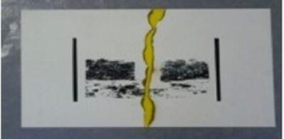 Osvaldo Romberg, 'El paisaje como idea',  como idea-c. 1970