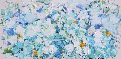 Zhang He, 'Turquoise Lakes II', 2020
