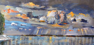 Gregory Hardy, 'Shimmer on the Lake, Storm Above', 2014