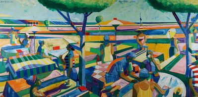 Roland Petersen, 'Serving Dessert'