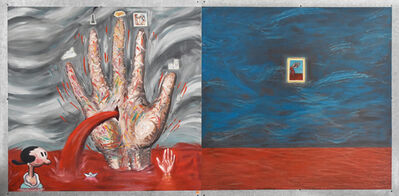 Enrique Chagoya, 'Mano Poderosa (Powerful Hand) ', 1992