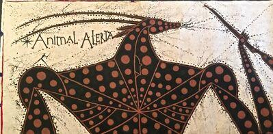 José Bedia, 'Animal Alerta', 2014