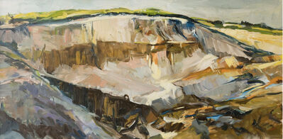 Tuëma Pattie, 'Heath End Quarry Duncton', 1989
