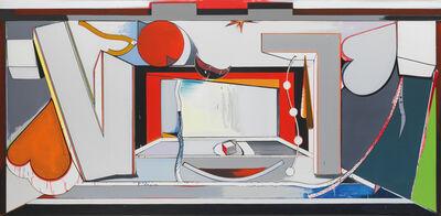 Thomas Scheibitz, 'VT Bühne', 2010