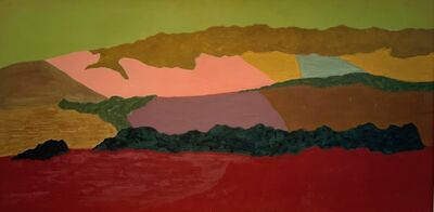 March Avery, 'French Landscape', 1970