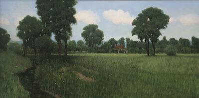 Donald Jurney, 'Afternoon in the Sarthe', 1999