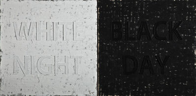 Huang Rui, 'White Night / Black Night', 2013