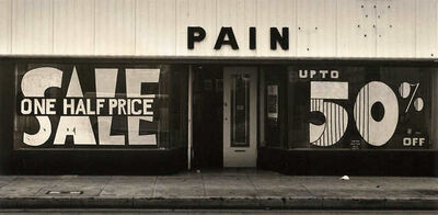 Arthur Taussig, 'Untitled (Pain)', 1983