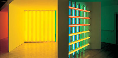 Dan Flavin, 'Dan Flavin Art Institute - Interior'