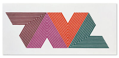 Frank Stella, 'Empress of India II', 1968