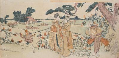 Katsushika Hokusai, 'Autumn Outing', ca. 1800