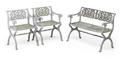 Karl Friedrich Schinkel, 'Karl Friedrich Schinkel Garden Furniture', mid 19th c.