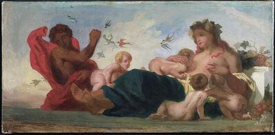Eugène Delacroix, 'L'Agriculture', 1834