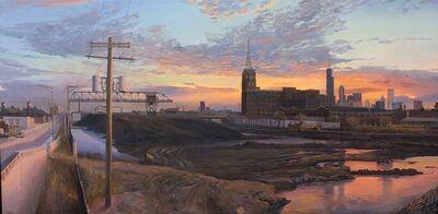 Art Chartow, 'Coal Yard, South Branch Chicago River', 2018