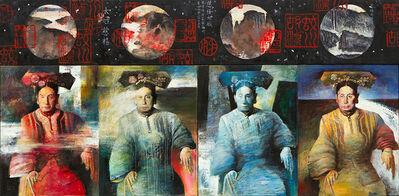 Li Hu, 'Empress Cixi No.1', 1992