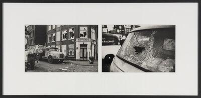 Ed van der Elsken, 'Lorry and broken window', 1963