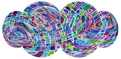 Klari Reis, 'Purple Bulbous Systematic', 2012